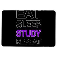 Eat sleep study repeat iPad Air Flip