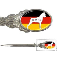 Boxer Name Silo On Flag White Letter Openers