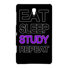 Eat sleep study repeat Samsung Galaxy Tab S (8.4 ) Hardshell Case