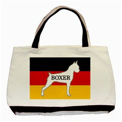 Boxer Name Silo On Flag White Basic Tote Bag