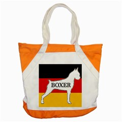 Boxer Name Silo On Flag White Accent Tote Bag