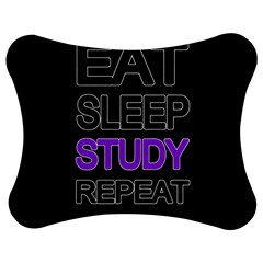 Eat sleep study repeat Jigsaw Puzzle Photo Stand (Bow)