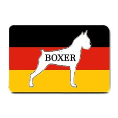 Boxer Name Silo On Flag White Small Doormat