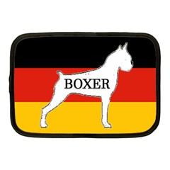 Boxer Name Silo On Flag White Netbook Case (Medium)