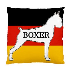Boxer Name Silo On Flag White Standard Cushion Case (One Side)