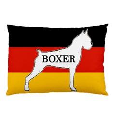 Boxer Name Silo On Flag White Pillow Case