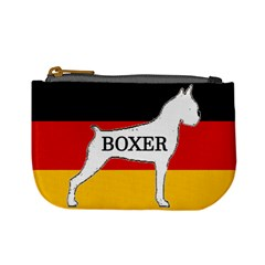 Boxer Name Silo On Flag White Mini Coin Purses