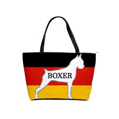 Boxer Name Silo On Flag White Shoulder Handbags