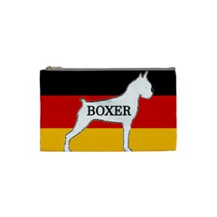 Boxer Name Silo On Flag White Cosmetic Bag (Small)