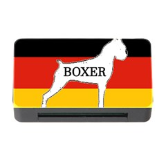 Boxer Name Silo On Flag White Memory Card Reader with CF