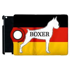 Boxer Name Silo On Flag White Apple iPad 2 Flip 360 Case
