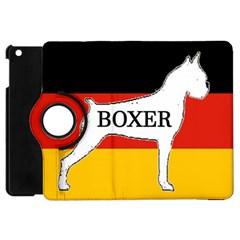 Boxer Name Silo On Flag White Apple iPad Mini Flip 360 Case