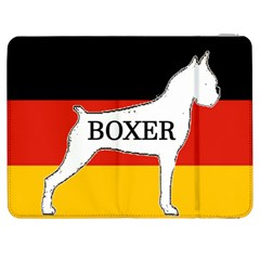 Boxer Name Silo On Flag White Samsung Galaxy Tab 7  P1000 Flip Case