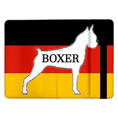 Boxer Name Silo On Flag White Samsung Galaxy Tab Pro 12.2  Flip Case