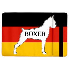 Boxer Name Silo On Flag White iPad Air 2 Flip