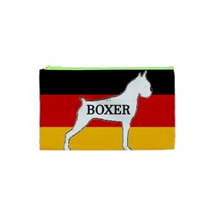 Boxer Name Silo On Flag White Cosmetic Bag (XS)