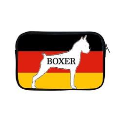 Boxer Name Silo On Flag White Apple MacBook Pro 13  Zipper Case