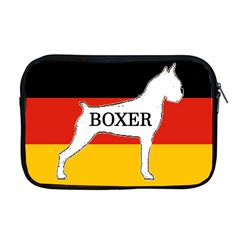 Boxer Name Silo On Flag White Apple MacBook Pro 17  Zipper Case