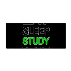 Eat sleep study repeat Cosmetic Storage Cases