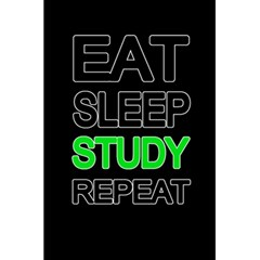Eat sleep study repeat 5.5  x 8.5  Notebooks