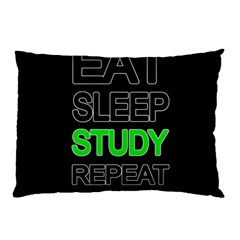 Eat sleep study repeat Pillow Case (Two Sides)
