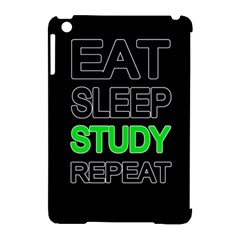 Eat sleep study repeat Apple iPad Mini Hardshell Case (Compatible with Smart Cover)