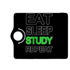 Eat sleep study repeat Kindle Fire HDX 8.9  Flip 360 Case