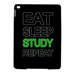 Eat sleep study repeat iPad Air 2 Hardshell Cases