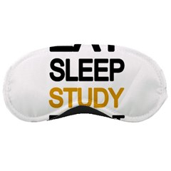 Eat sleep study repeat Sleeping Masks