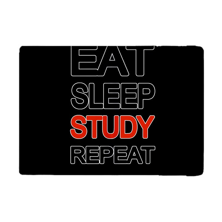Eat sleep study repeat Apple iPad Mini Flip Case