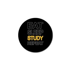 Eat sleep study repeat Golf Ball Marker (4 pack)