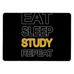 Eat sleep study repeat Samsung Galaxy Tab 10.1  P7500 Flip Case
