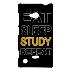 Eat sleep study repeat Nokia Lumia 720