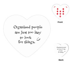 Lazy Playing Cards (Heart)