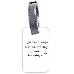 Lazy Luggage Tags (One Side)
