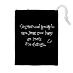 Lazy Drawstring Pouches (Extra Large)