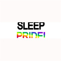 Eat sleep pride repeat Large Bar Mats