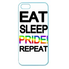 Eat sleep pride repeat Apple Seamless iPhone 5 Case (Color)