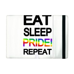 Eat sleep pride repeat Apple iPad Mini Flip Case