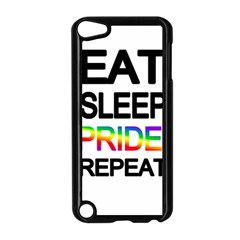 Eat sleep pride repeat Apple iPod Touch 5 Case (Black)