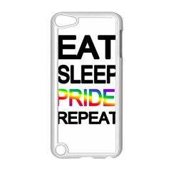 Eat sleep pride repeat Apple iPod Touch 5 Case (White)