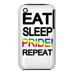 Eat sleep pride repeat iPhone 3S/3GS