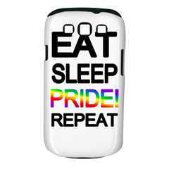 Eat sleep pride repeat Samsung Galaxy S III Classic Hardshell Case (PC+Silicone)