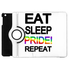 Eat sleep pride repeat Apple iPad Mini Flip 360 Case