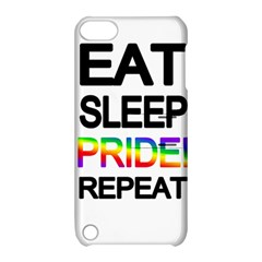 Eat sleep pride repeat Apple iPod Touch 5 Hardshell Case with Stand