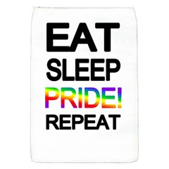 Eat sleep pride repeat Flap Covers (S)