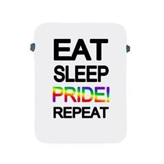 Eat sleep pride repeat Apple iPad 2/3/4 Protective Soft Cases