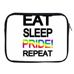 Eat sleep pride repeat Apple iPad 2/3/4 Zipper Cases