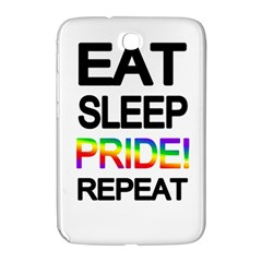 Eat sleep pride repeat Samsung Galaxy Note 8.0 N5100 Hardshell Case