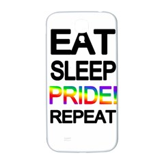 Eat sleep pride repeat Samsung Galaxy S4 I9500/I9505  Hardshell Back Case